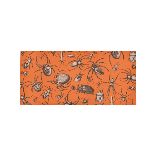 beetles spiders creepy crawlers insects halloween Area Rug 7'x3'3''
