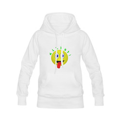 Wazzup Funny Smiley Men's Classic Hoodies (Model H10)