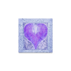 "heart 5 Canvas Print 6""x6"""