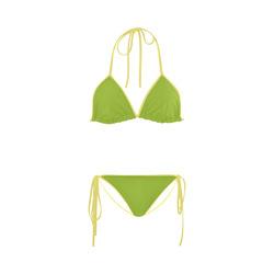Lime Custom Bikini Swimsuit