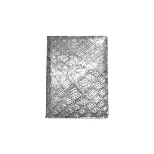 Bump Grid Black and White Custom NoteBook B5