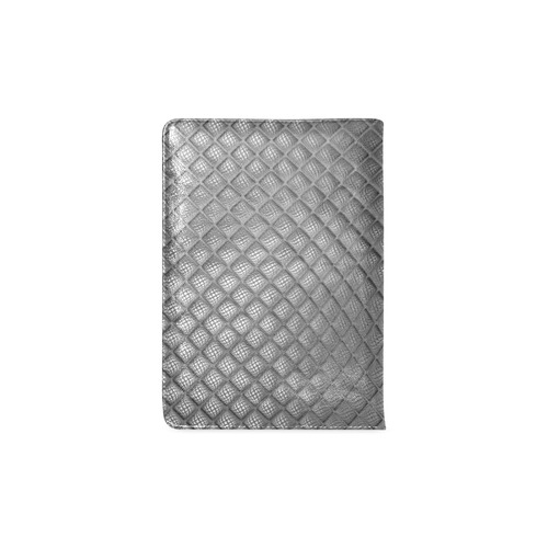 Bump Grid Black and White Custom NoteBook A5
