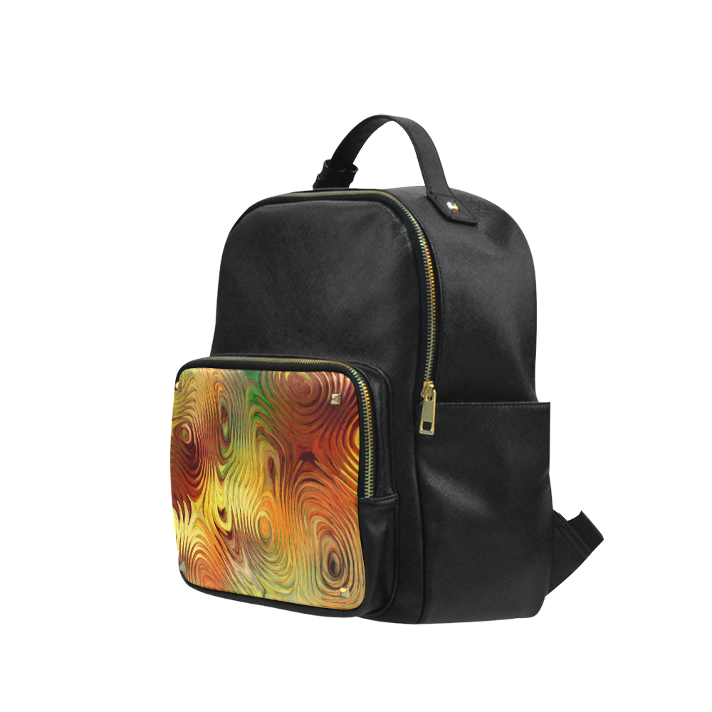 Autumn Leafs Underwater Campus backpack/Large (Model 1650)