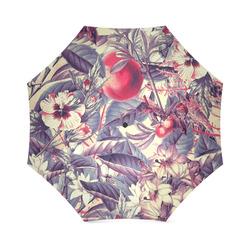 flowers 5 Foldable Umbrella (Model U01)