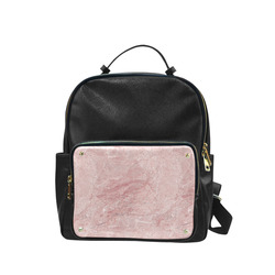 italian Marble, Rafaello Rosa, pink Campus backpack/Large (Model 1650)