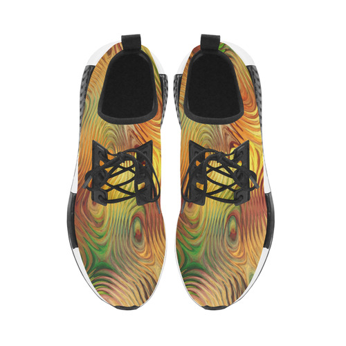 Autumn Leafs Underwater Men's Draco Running Shoes (Model 025)