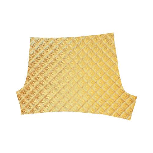 Gleaming Golden Plate Briseis Skinny Shorts (Model L04)