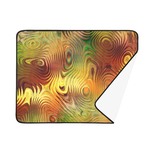 "Autumn Leafs Underwater Beach Mat 78""x 60"""