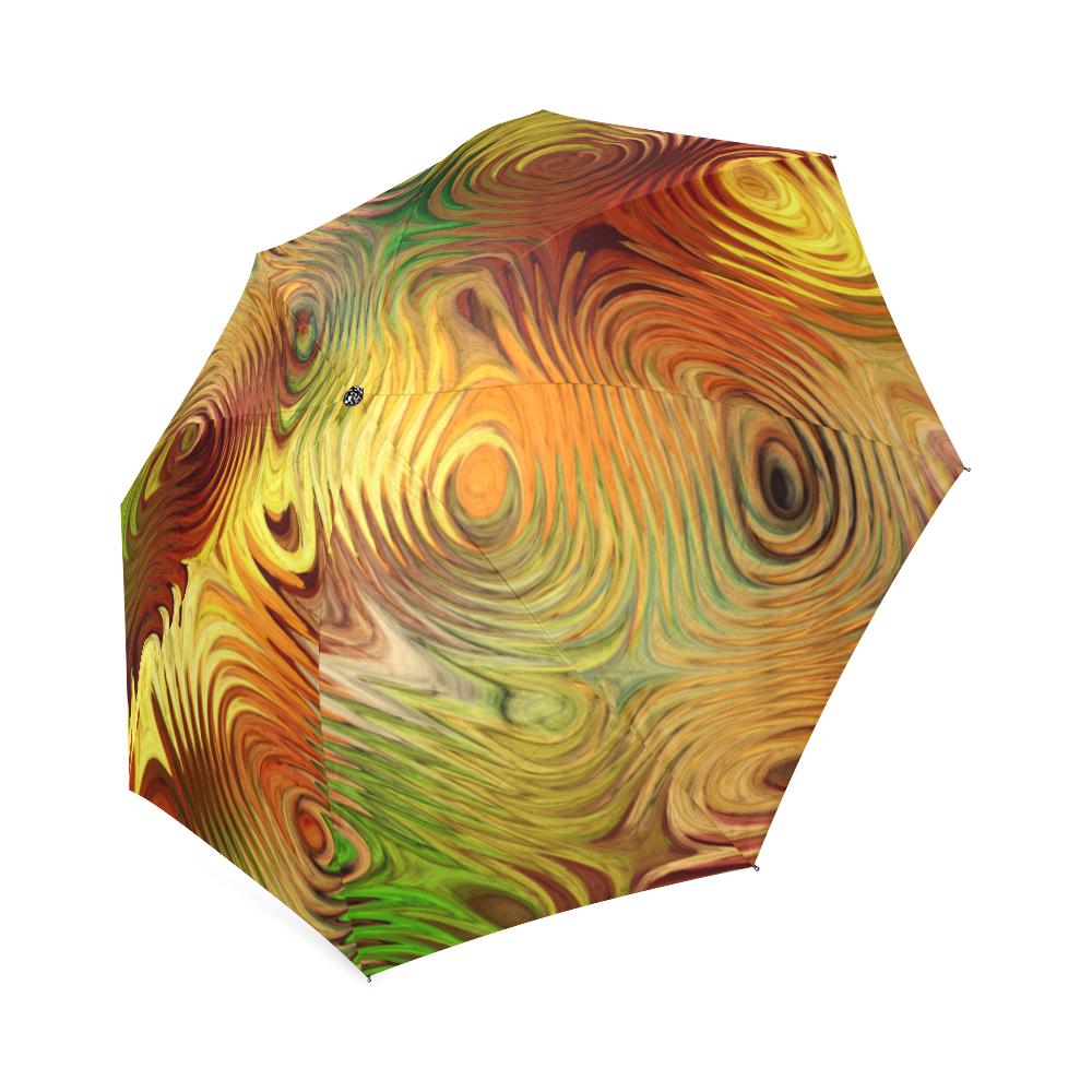Autumn Leafs Underwater Foldable Umbrella (Model U01)