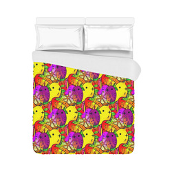 """Fruities by Popart Lover Duvet Cover 86""""x70"""" ( All-over-print)"""