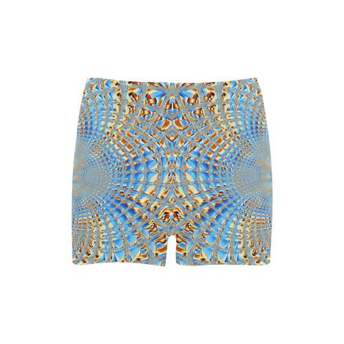 Window Iced Flower Briseis Skinny Shorts (Model L04)