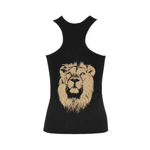 LION Women's Shoulder-Free Tank Top (Model T35)
