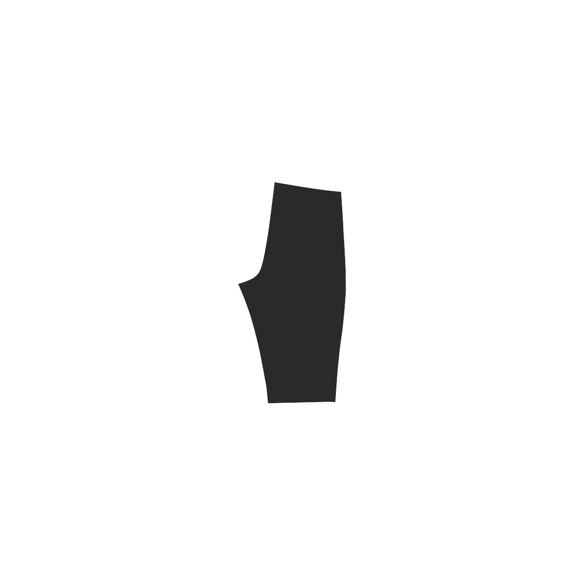 LION ON BLACK Hestia Cropped Leggings (Model L03)