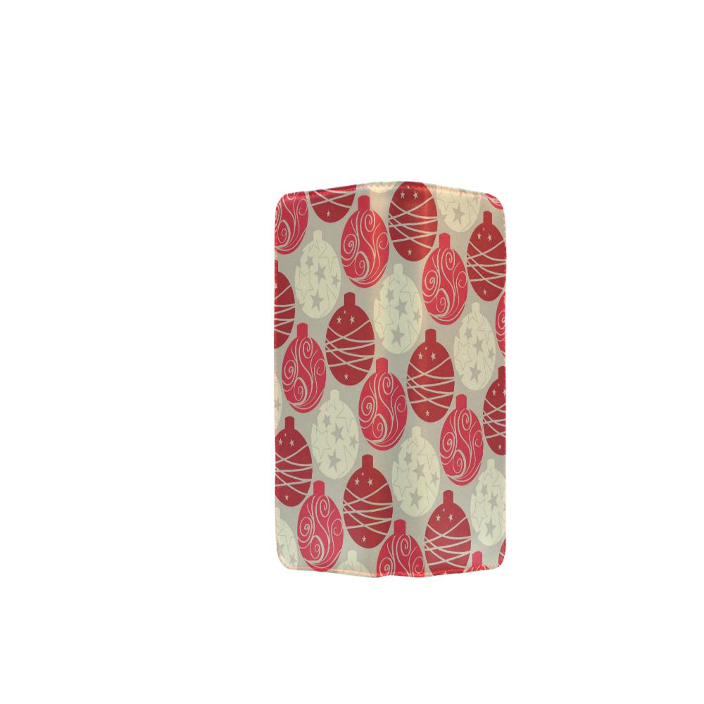 Vintage Ornament Red Women's Clutch Wallet (Model 1637)