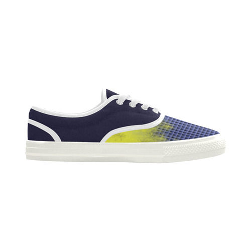 Time and space Aries Women's Canvas Shoes (Model 029)
