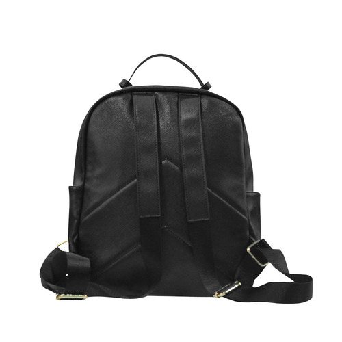Nautilus Shell Abstract Fractal Campus backpack/Large (Model 1650)