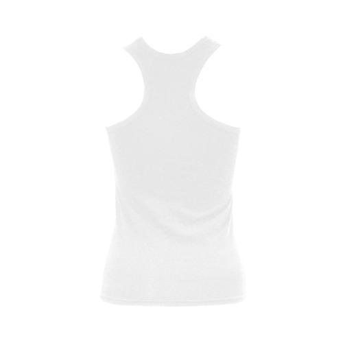 smoky skull Women's Shoulder-Free Tank Top (Model T35)