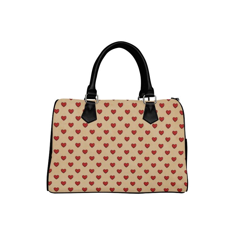 HEARTS VINTAGE LADY LIKE Boston Handbag (Model 1621)