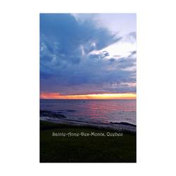 "Sunset RainStorm Poster 22""x34"""