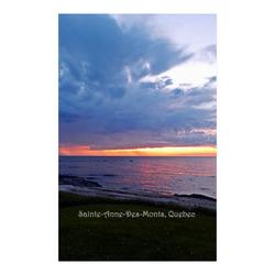 "Sunset RainStorm Poster 23""x36"""