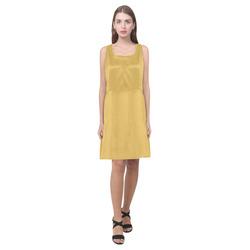 Spicy Mustard Hebe Casual Sundress (Model D11)