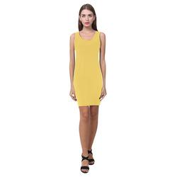 Primrose Yellow Medea Vest Dress (Model D06)