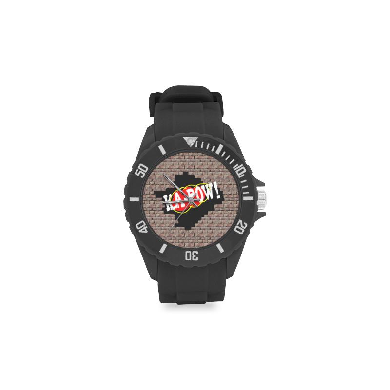 KA-POW! Sport Rubber Strap Watch(Model 301)