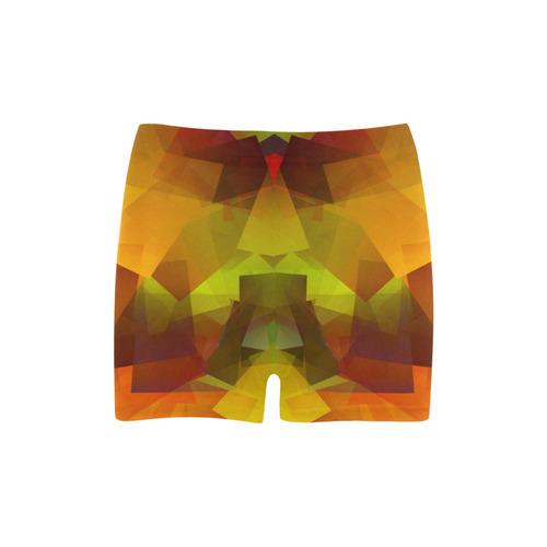 Indian Summer Cubes Briseis Skinny Shorts (Model L04)