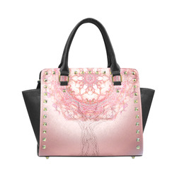 437 Rivet Shoulder Handbag (Model 1645)