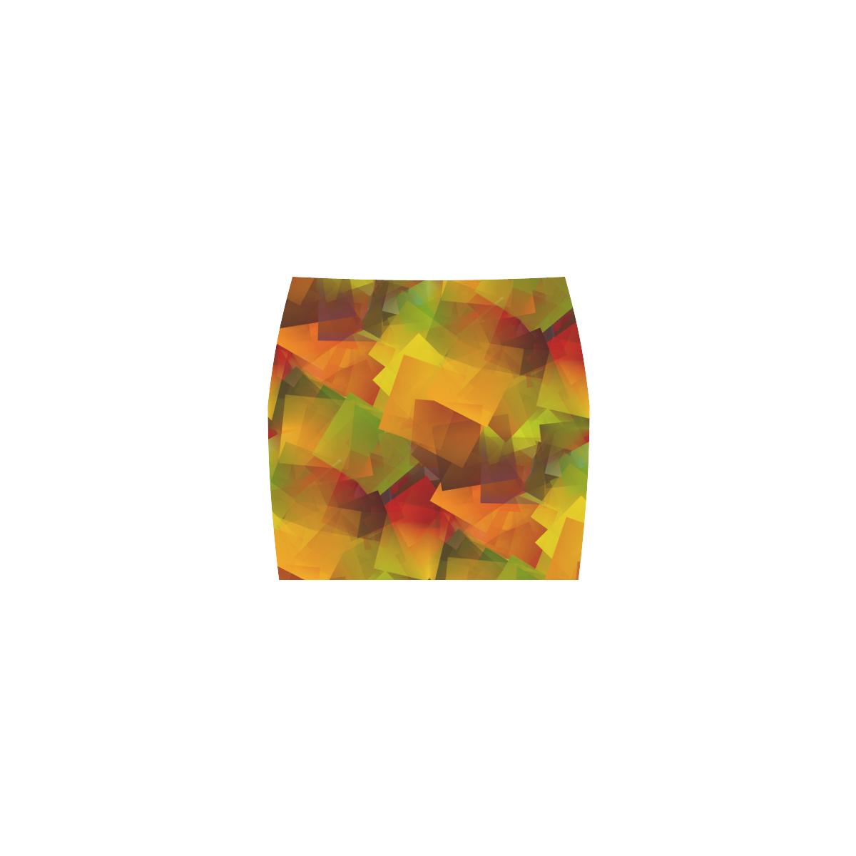 Indian Summer Cubes Nemesis Skirt (Model D02)