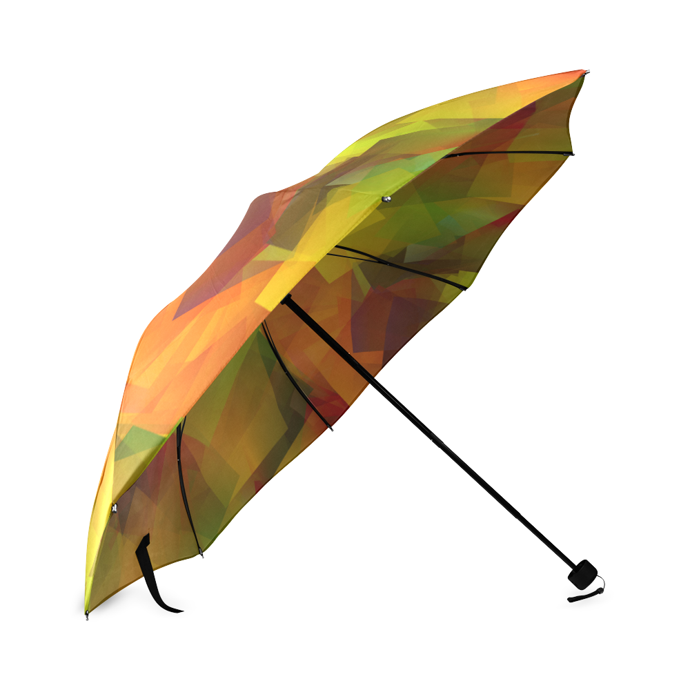 Indian Summer Cubes Foldable Umbrella (Model U01)