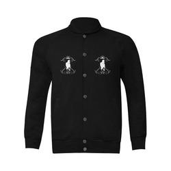 White horse Men's Baseball jacket (Model H12)