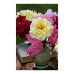 """Roses bouquet Poster 23""""x36"""""""