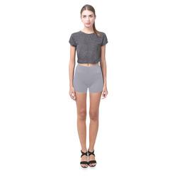 Lilac Gray Briseis Skinny Shorts (Model L04)
