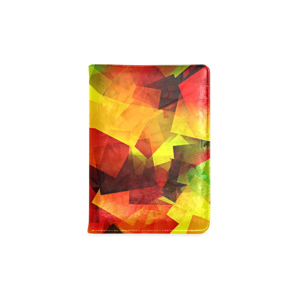 Indian Summer Cubes Custom NoteBook A5