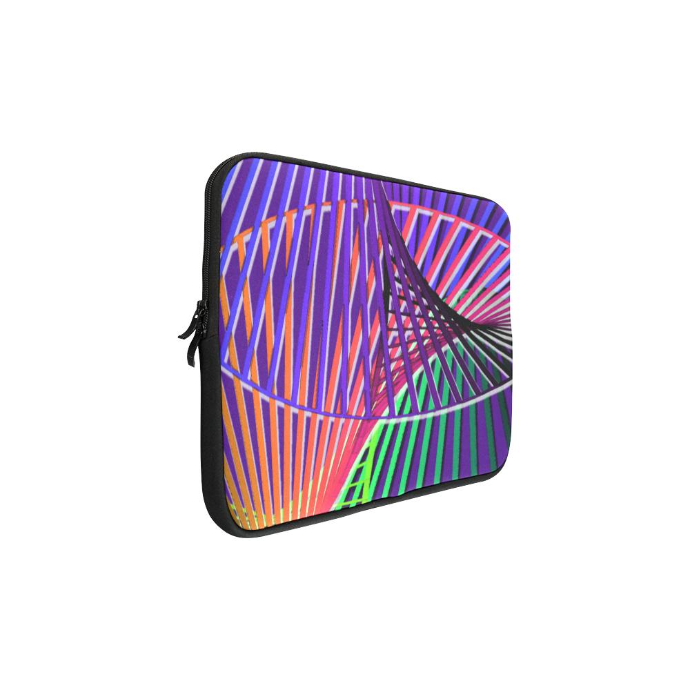 Colorful Rainbow Helix Macbook Pro 17''