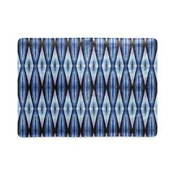 Blue White Diamond Pattern Custom NoteBook A5