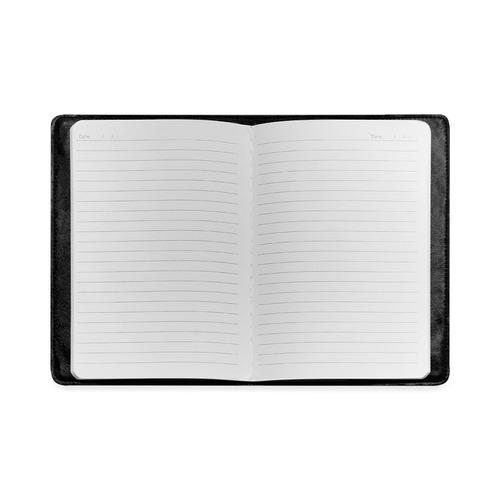 Colorful Rainbow Helix Custom NoteBook A5
