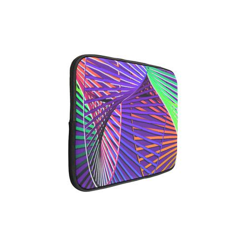 Colorful Rainbow Helix Custom Laptop Sleeve 15''