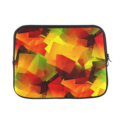 "Indian Summer Cubes Custom Laptop Sleeve 13"""