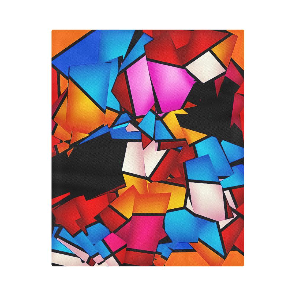 """Lightning Pattern by Artdream Duvet Cover 86""""x70"""" ( All-over-print)"""