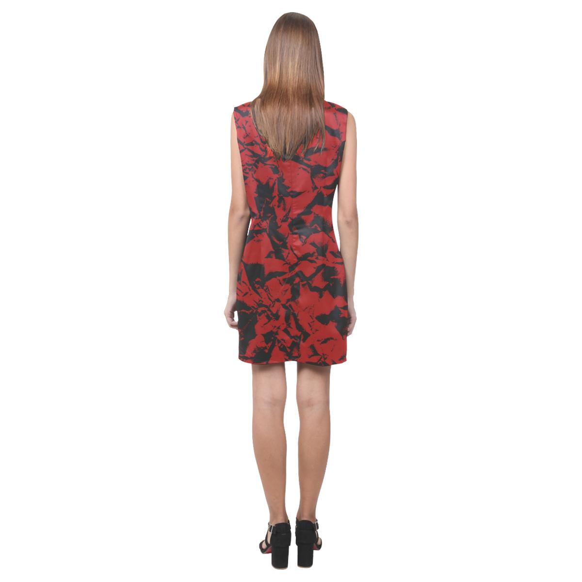 arruga vneck dress Phoebe Sleeveless V-Neck Dress (Model D09)