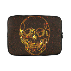 golden skull Custom Laptop Sleeve 15''