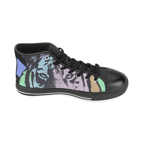 TIGER FIVE High Top Canvas Women's Shoes/Large Size (Model 017)