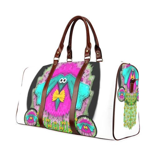 Love me give me a home Waterproof Travel Bag/Small (Model 1639)