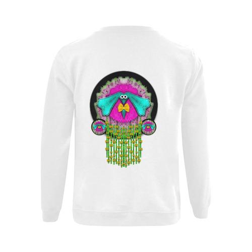 Love me give me a home Gildan Crewneck Sweatshirt(NEW) (Model H01)