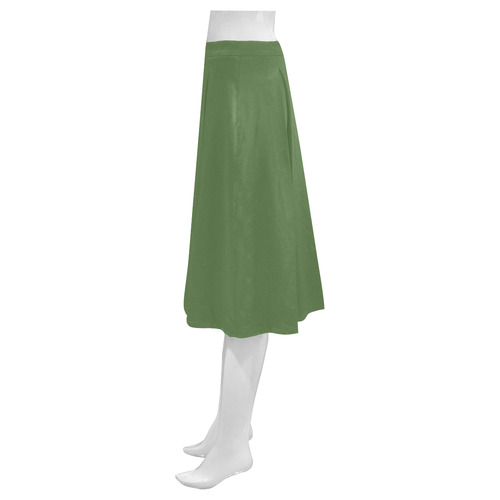 Cactus Mnemosyne Women's Crepe Skirt (Model D16)