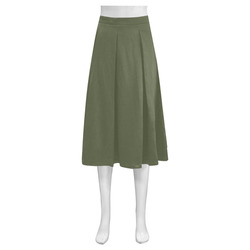 Cypress Mnemosyne Women's Crepe Skirt (Model D16)