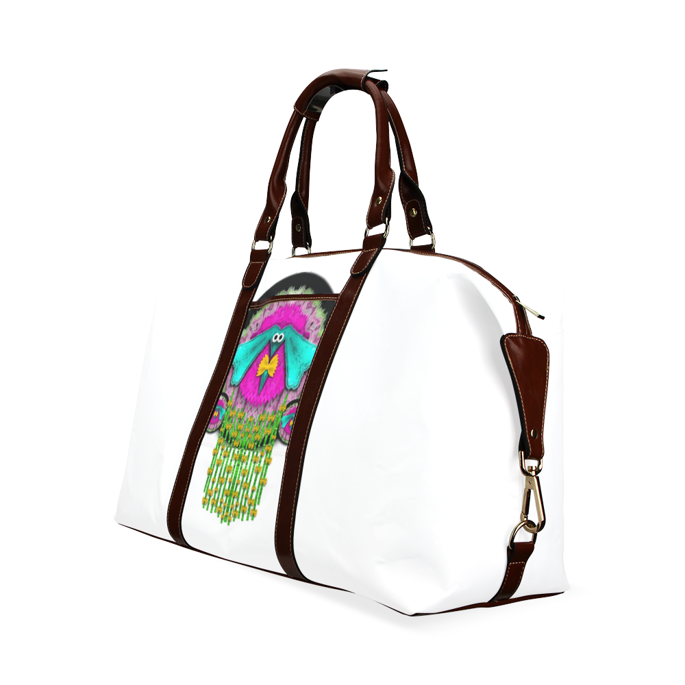 Love me give me a home Classic Travel Bag (Model 1643) Remake