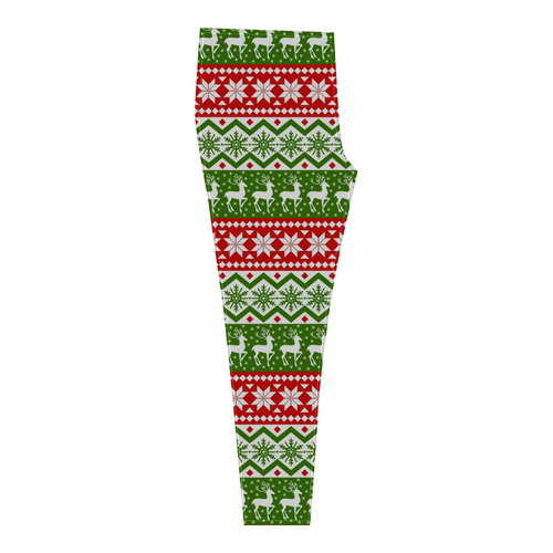 Christmas Ugly Sweater Cassandra Women's Leggings (Model L01)